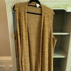 Lularoe Joy Vest - size XL